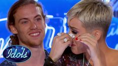 INSPIRATIONAL! American Idol Judge KATY PERRY CRIES During David Francesco's Audition   Idols Global - YouTube