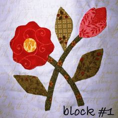 Mrs. Lincoln's Sampler Block Appliqué