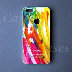 Iphone 5 Case  Colorful Paint Iphone 5 Cover   PRE by DzinerCase, $16.99
