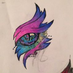 Dragon Eye Drawing, Watercolor Tattoo, Art Drawings, Tattoos, Dragons, Nice, Tatuajes, Tattoo, Nice France