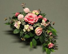 Cemetery Decorations, Making A Bouquet, Funeral Flowers, Fall Flowers, Chrysanthemum, Ikebana, Artificial Flowers, Diy And Crafts, Floral Design