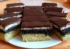 Hungarian Recipes, Quesadilla, Cake Cookies, Tiramisu, Cheesecake, Dessert Recipes, Food And Drink, Cooking, Ethnic Recipes