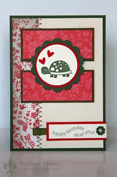 Stampin' UP! Fox & Friends Retro Impressionen Sale-a-Bration 2012 by First Hand Emotion