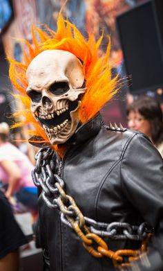Ghost Rider Cosplay