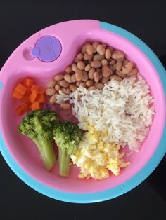 Comida para bebe de 1 ano baby eating, 2 year old food, baby food. Toddler Menu, Healthy Toddler Meals, Toddler Lunches, Healthy Meals For One, Kids Meals, Healthy Eating, Healthy Recipes, Healthy Toddler Breakfast, Space Food