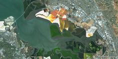 San Francisco Bay, California, USA – PlanetSAT 15 satellite image (07/2014)