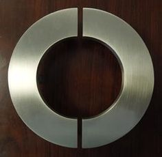 Hmmm. This is interesting. C handles, C letters, Contemporary door handles, contemporary door pulls, art deco door pulls