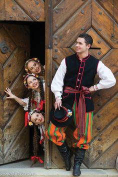 Folk Costume, Costumes, Polish Folk Art, Eastern Europe, Folklore, Poland, Traditional, How To Wear, Spaces