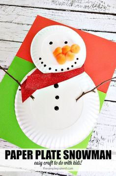 40 Creatives Winter Crafts for Kids Ideas