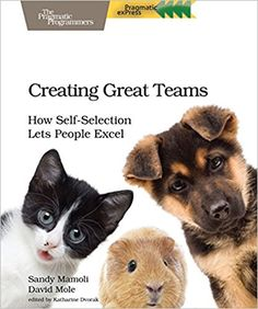People are happiest and most productive if they can choose what they work on and who they work with. Self-selecting teams give people that choice. Bui...