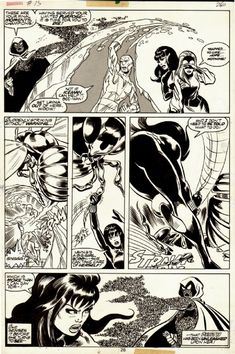 Original Comic Art titled John Byrne and Mike Esposito - The Champions page located in Ben's Bronze & Silver Age superhero art Comic Art Gallery Marvel Art, Character Design, Drawings, Comic Book Pages, Comic Books Art, Deep Paintings, Art, Superhero Art, Art Pages