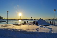 25.12. was the day, when bright winter days arrived in Helsinki