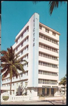 Victor Hotel, 1144 Ocean Drive, Miami Beach, FL. Before it was remodeled