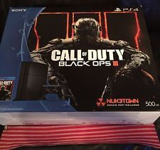 PlayStation 4 500GB - Call of Duty Black Ops III Bundle - Free Shipping