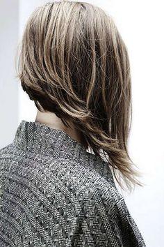 Cortes para pelo asimétrico 2015: fotos de los cortes de pelo - Corte melena asimétrica y escalada