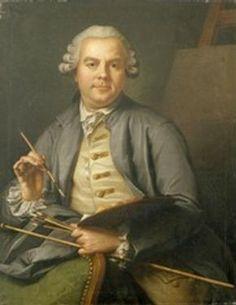 Figure 9 - Self-portrait, Donat Nonnotte, France, 1758, oil on canvas. 93 x 73 cm. Besançon, Musée des beaux-arts et d'archéologie. Inv. no. 843.6.1. © Musée des beaux-arts et d'archéologie, Besançon, (Photo: Charles CHOFFET)