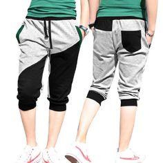 Magiftbox Men's Harem Baggy Training Pants-M-Grey Magiftbox ...