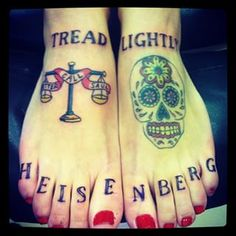 """Community Post: 38 """"Breaking Bad"""" Tattoos For Fans Who Never Tread Lightly"""