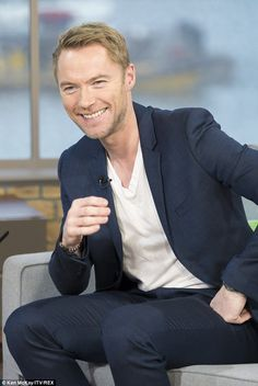'I'd love to': Singer Ronan Keating expressed a desire to marry his girlfriend Storm Uecht...