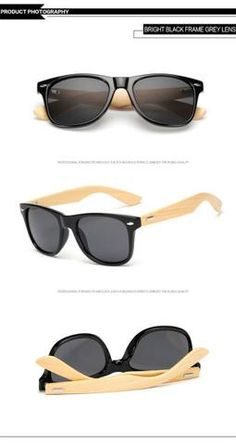 Bright Black Gray Bamboo Brand Designer Sunglasses For Sales Online Store Shop Free Shipping products eyewear style shops websites fashion mens accessories 2017 Best Cheap Bulk Sunglasses Deals Bamboo Foot Sunglasses Men Women Wooden Sunglasses Brand Designer Original Wood Sunglasses Factory Wholesale Price