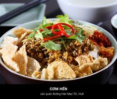 Cơm Hến - Huế #Travel #VietNam #Hue #Dacsan