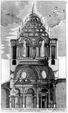 The Turin cathedral is dedicated to San Giovanni, i., John the Baptist.The interior facade of s shroud of Turin. Architecture Baroque, Religious Architecture, Architecture Drawings, Futuristic Architecture, Historical Architecture, Architecture Details, House Architecture, Turin, Saint Suaire