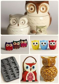 """Hoo"" else loves owls? @worldmarket has tons of owl decor! #worldmarketsweeps"