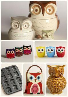 """Hoo"" else loves owls? @worldmarket has tons of owl decor! #worldmarketsweeps"