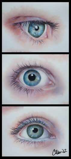 Close-Up. Eyes. Drawing.   by Live4ArtInLA on deviantART