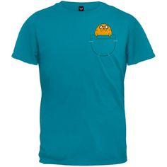 Adventure Time Jake In Pocket T-Shirt Size : Small Cartoon Network http://www.amazon.com/dp/B0084BBQ7I/ref=cm_sw_r_pi_dp_6D56tb0670W9J