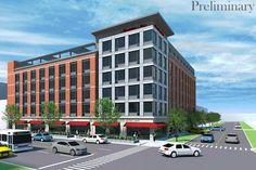 Loyola University and a developer has proposed a 145-room Hampton Inn on Sheridan Road.