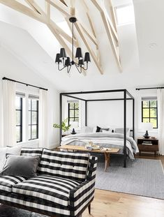 How to Choose Windows for Your Whole House (and What We Did for the Portland House) - Emily Henderson Bedroom Ceiling, Home Decor Bedroom, Modern Bedroom, Master Bedrooms, Ceiling Fan, Portland House, Bedroom With Sitting Area, Decor Inspiration, Interiores Design