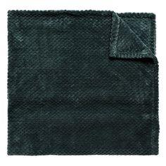 Romance 130x170cm Blanket Romance, Sinivihreä - Kodinsisustusta - Kodintekstiilejä - Hemtex