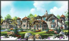This IS my dream home.....100% Tuscan/Mediterranean Style
