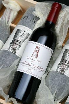 Chateau Latour, The Wine Shop, Wine Vineyards, Chocolate Covered Cherries, French Wine, Wine Bottle Labels, In Vino Veritas, Italian Wine, Wine List
