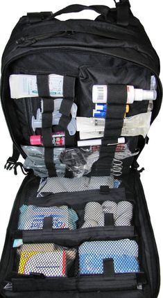 Stomp Medical Kit Fully Stocked First Aid Backpack OD Green New Army Navy Store, Army & Navy, Emergency Survival Kit, Survival Tips, Emergency Medicine, Survival Skills, Combat Medic, Medical Bag, Bug Out Bag