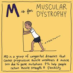 A-Z: A Physical Therapy Alphabet Physical Therapy Memes, Muscle Weakness, Muscular Dystrophies, Helping People, Flexibility, Physics, Alphabet, Strength, Back Walkover