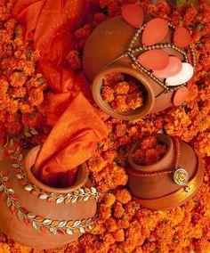spices in orange