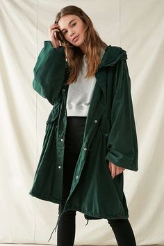 Urban Outfitters- : Vintage Fishtail Parka Jacket