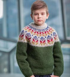 Icelandic sweaters and products - Akur - Knitting Kit - NordicStore Knitting Books, Knitting Kits, Knitting Patterns Free, Free Knitting, Boys Sweaters, Winter Sweaters, Men Sweater, Cardigans, Bamboo Knitting Needles