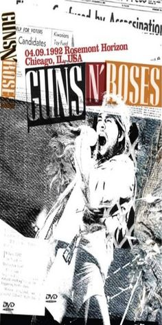 Guns And Rouses, Rock Band Posters, Vintage Music Posters, Heavy Metal Rock, Axl Rose, Best Albums, Rock Bands, Rock N Roll, Roses