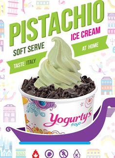 Home - Yogurty's® Froyo® Frozen Yogurt Pistachio Ice Cream, Going To Rain, Soft Serve, Frozen Yogurt, Treats, Photo And Video, Hamilton, Play, News