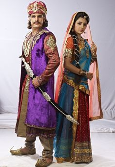 Paridhi Sharma and Rajat Tokas as Jodha and Akbar- what a beautiful pair!