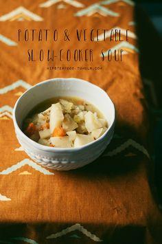 Potato & Vegetable Slow-Cooker Soup