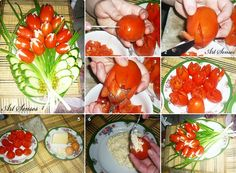 Tomato tulips