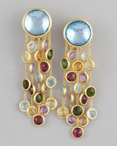 Marco Bicego Jaipur Multicolor Earrings in Blue