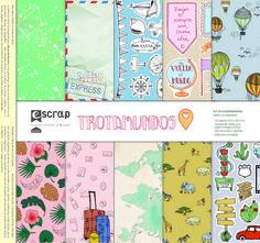Nueva colección de #escrap #trotamundos, una colección muy viajera Washi Tape, Mini, Stampin Up, Projects, Handmade, Scrapbooking, Tags, Paper Envelopes, Hipster Stuff