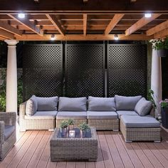 The pergola kits are the easiest and quickest way to build a garden pergola. There are lots of do it yourself pergola kits available to you so that anyone could easily put them together to construct a new structure at their backyard. Diy Pergola, Pergola Screens, Deck With Pergola, Outdoor Pergola, Pergola Lighting, Outdoor Spaces, Outdoor Decor, Pergola Ideas, Pergola Roof