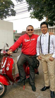 With Mr. Joe Sandy The Master
