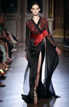 Zuhair Murad F2011-12 HC Japanese Kimono inspired fashion: